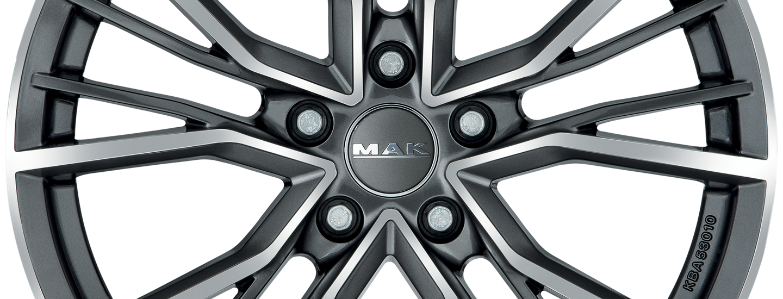 MAK Union Gun Metallic Mirror Front