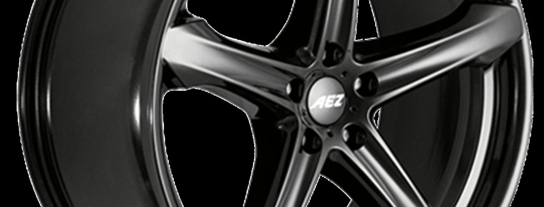 AEZ Yacht dark SUV alloy wheel extreme side