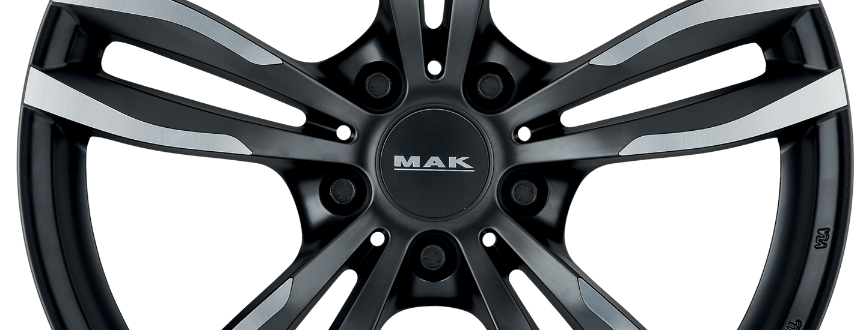 MAK Luft Ice Black Front