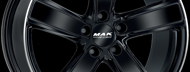 MAK Turismo FF D Gloss Black Mirror Ring Ant