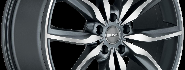 MAK Allianz Gun Metallic Mirror 3 4