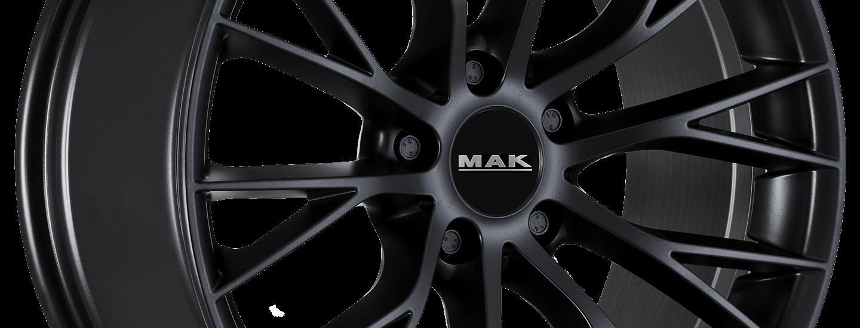 MAK Munchen Matt Black 3 4