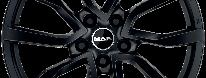 MAK Midlands Matt Black Front