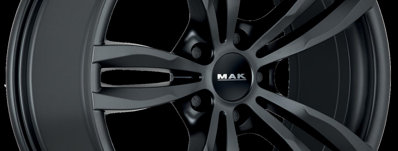 MAK Luft Matt Black 3 4