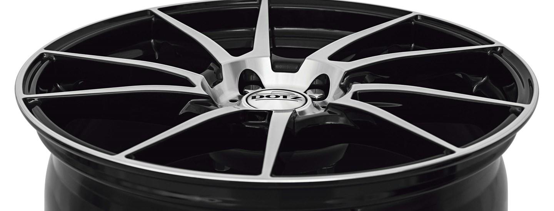 DOTZ Kendo alloy wheel double-spoke full above