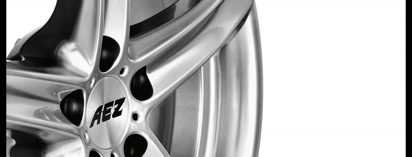 AEZ Yacht SUV alloy wheel 5-spoke detail rim centre
