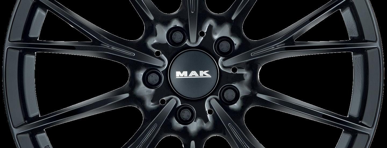 MAK Fabrik D Gloss Black Front