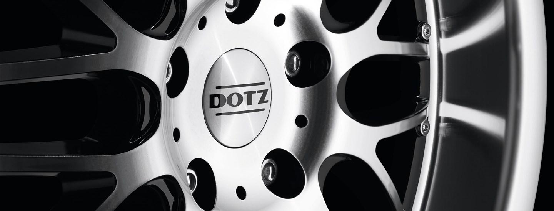 DOTZ Mugello alloy wheel cross-spoke detail front