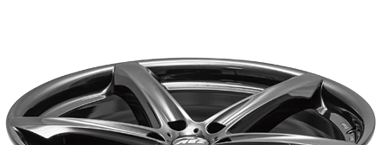 AEZ Yacht dark SUV alloy wheel five-spoke full above