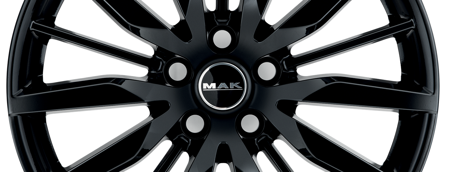 MAK Barbury Gloss Black Front