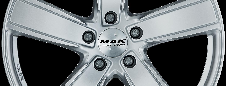 MAK Turismo D FF Silver Front