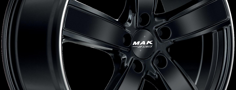 MAK Turismo FF Gloss Black Mirror Ring 3 4