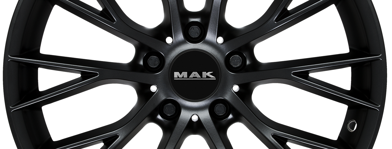 MAK Munchen Matt Black Front