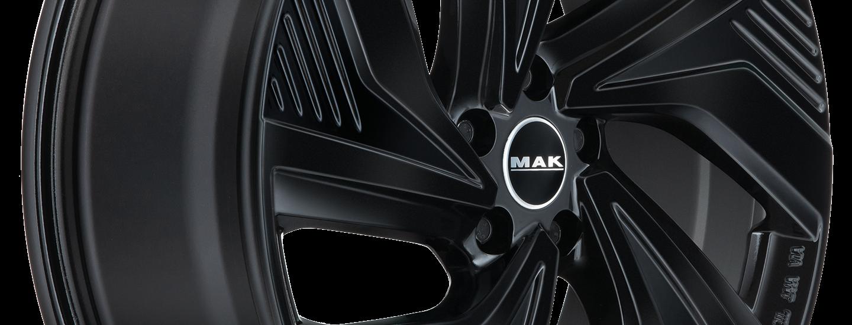 MAK Electra Gloss Black 3 4