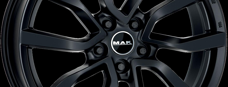 MAK Midlands Matt Black Ant