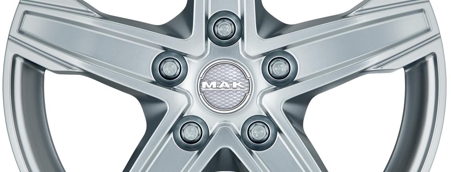 MAK King 5 Silver Front