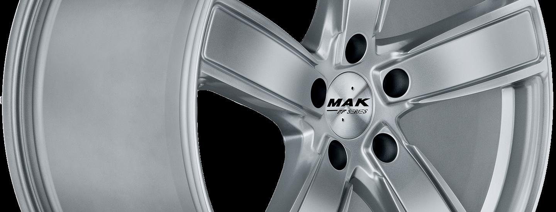 MAK Turismo D FF Silver 3 4
