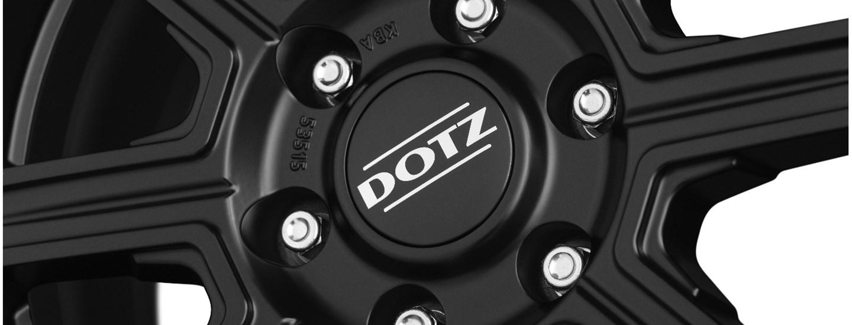 DOTZ Kalahari Black Detail2