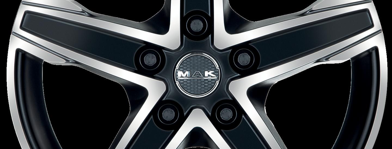 MAK King 5 Ice Black Front