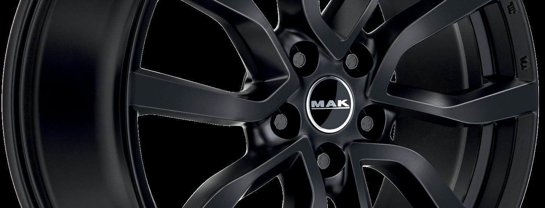 MAK Midlands Matt Black 3 4