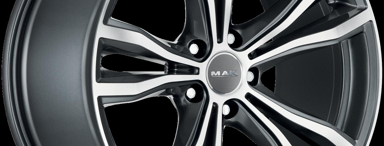 MAK X Mode Gun Metallic Mirror 3 4