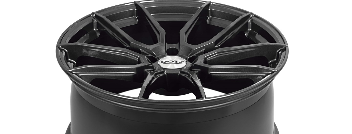 DOTZ Misano grey alloy wheel SR3 Painting