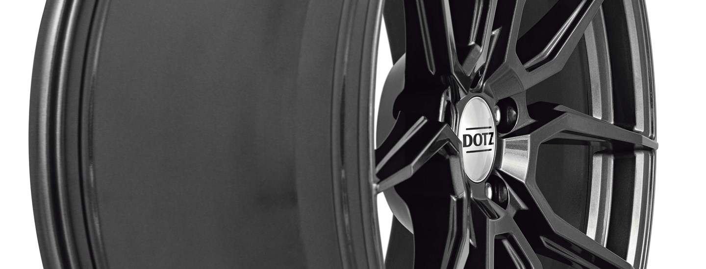 DOTZ Misano grey alloy wheel ALCAR