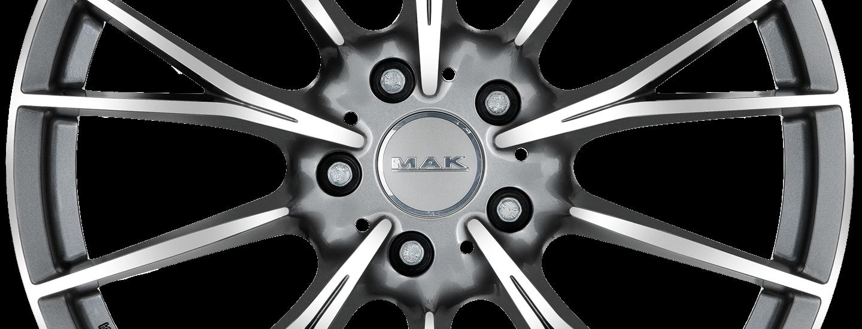 MAK Fabrik D Gun Metallic Mirror Front