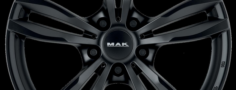 MAK Luft Matt Black Front