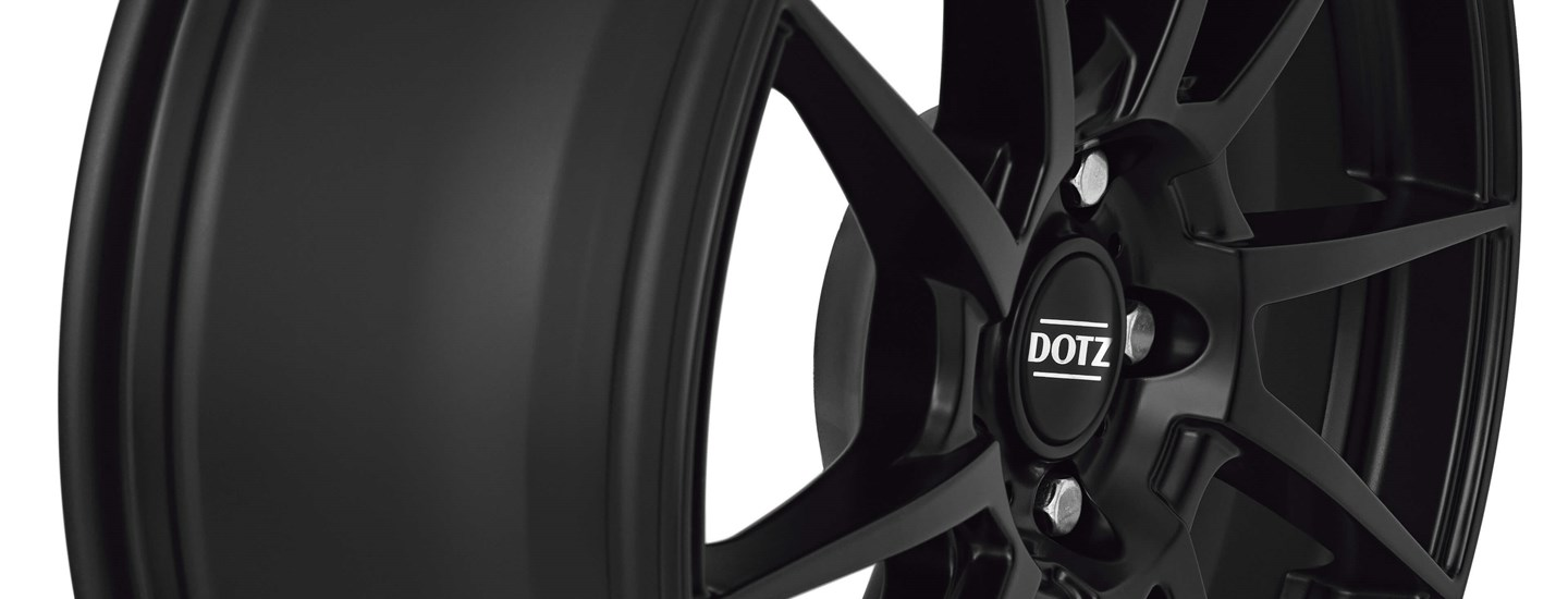 DOTZ Kendo dark alloy wheel black