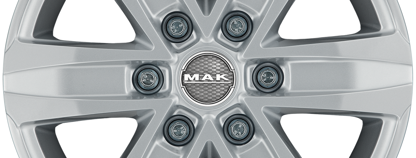 MAK Stone 6 Silver Front