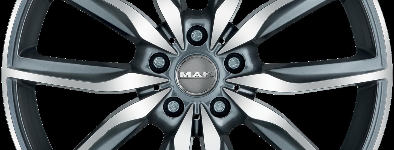 MAK Allianz Gun Metallic Mirror Front