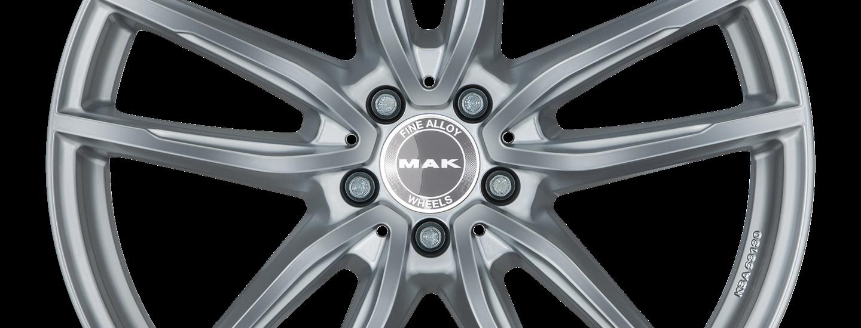 MAK Evo D Silver Front