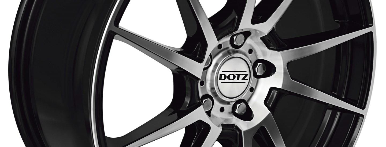 DOTZ Kendo alloy wheel double spoke detail frontal