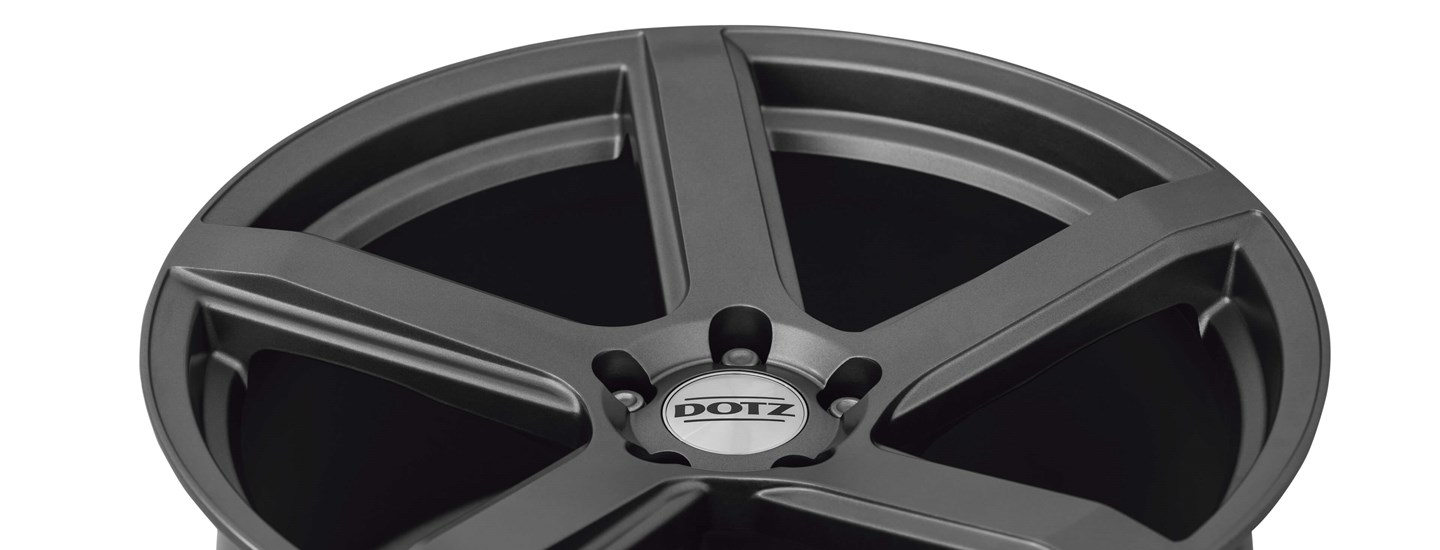 DOTZ CP5 Tuning alloy wheel five-spoke full above