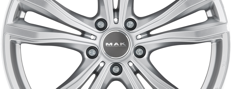 MAK X Mode Silver Front