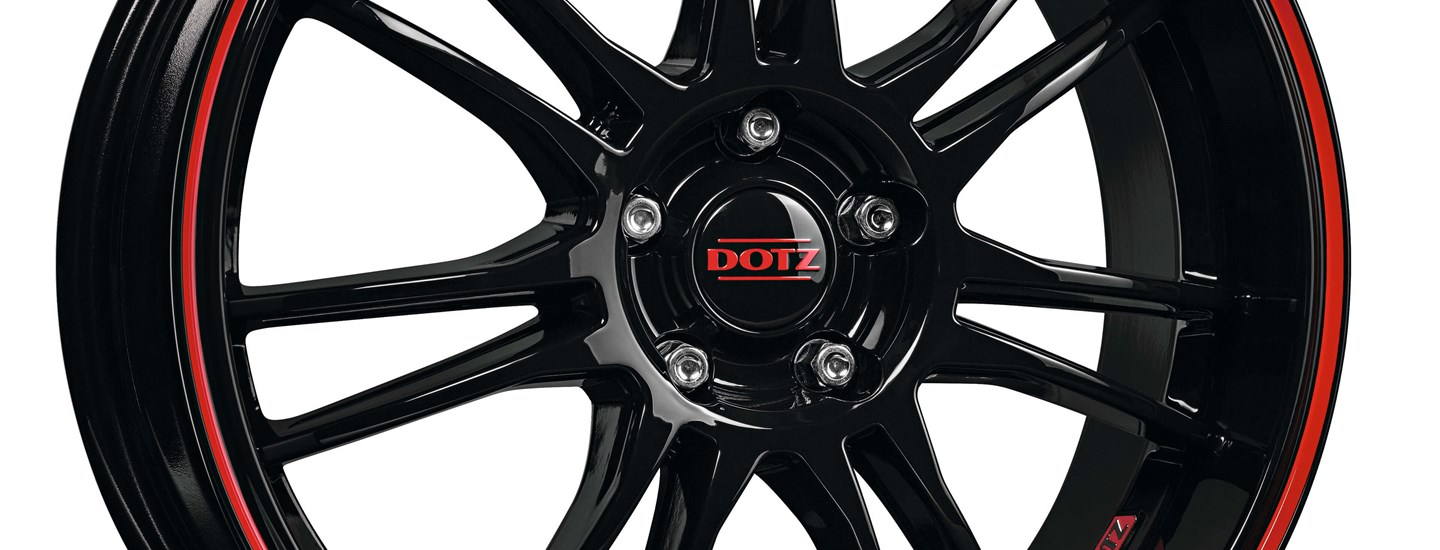 DOTZ Shift Pinstripe Red Detail3
