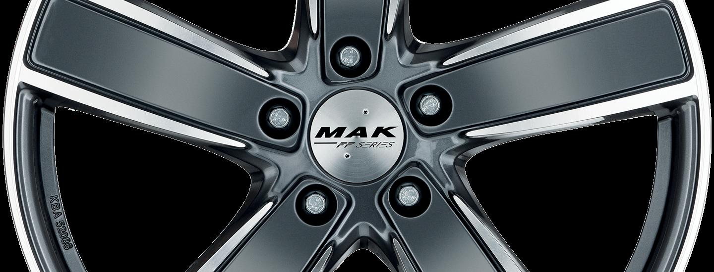 MAK Turismo FF Gun Metallic Mirror Front