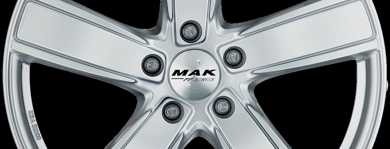 MAK Turismo FF Silver Front