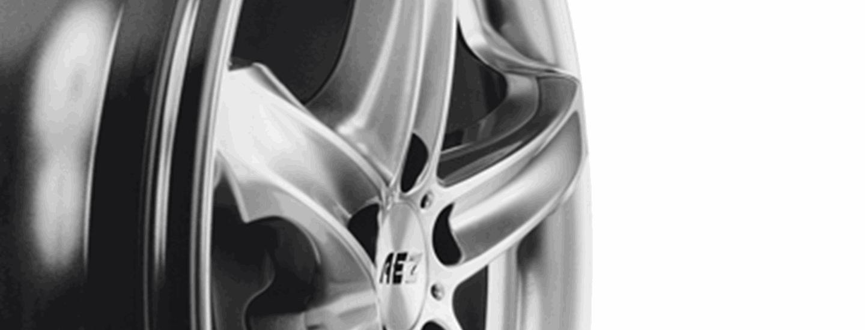 AEZ Yacht alloy wheel five-spoke detail side