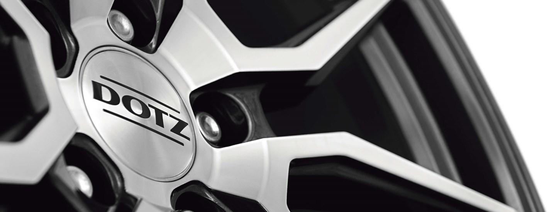 DOTZ Misano dark detail Tuning wheel